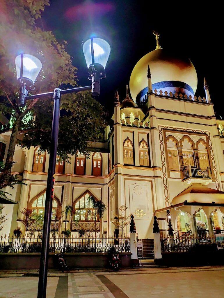 Masjid Sultan Moschee in Singapur