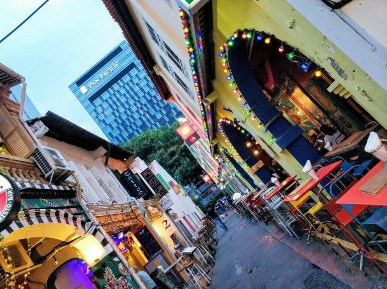 Haji Lane in Singapur