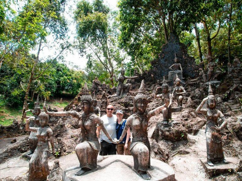 Secret Buddha Garden auf Koh Samui Thailand
