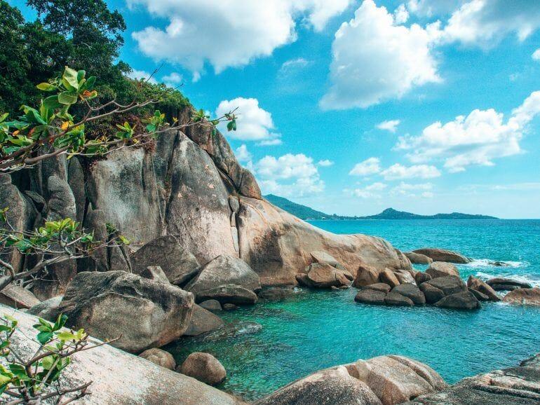 Hi Ta Hin Yai auf Koh Samui Thailand