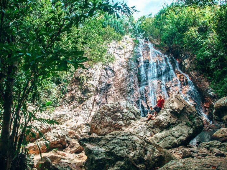 Na Muang Wasserfall auf Koh Samui Thailand