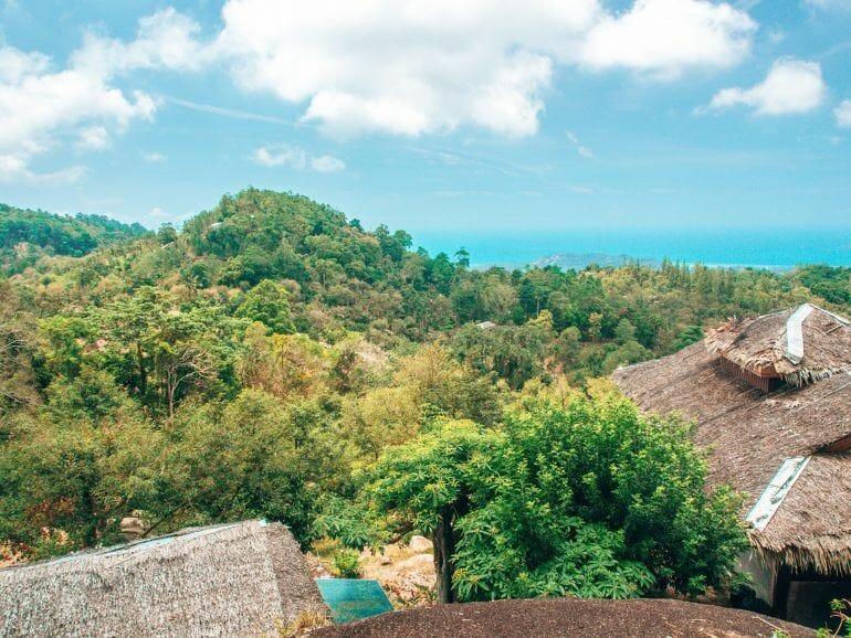 View Point in den Bergen von Koh Samui