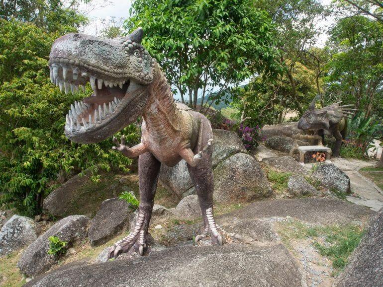 Dinosaurier beim View Point auf Koh Samui