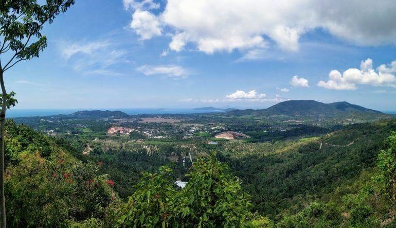 Panorama View Point auf Koh Samui