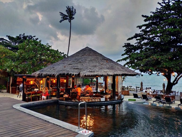 Outrigger Beach Resort auf Koh Samui Thailand