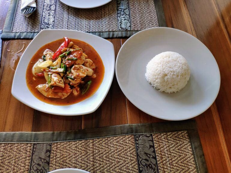 Thai Curry auf Koh Samui Thailand