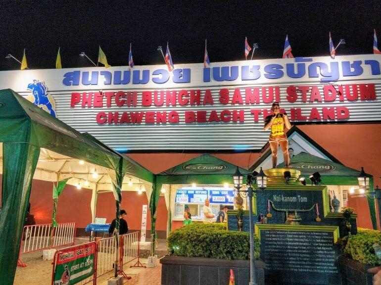 Phetcha Buncha Samui Stadium Koh Samui Thailand