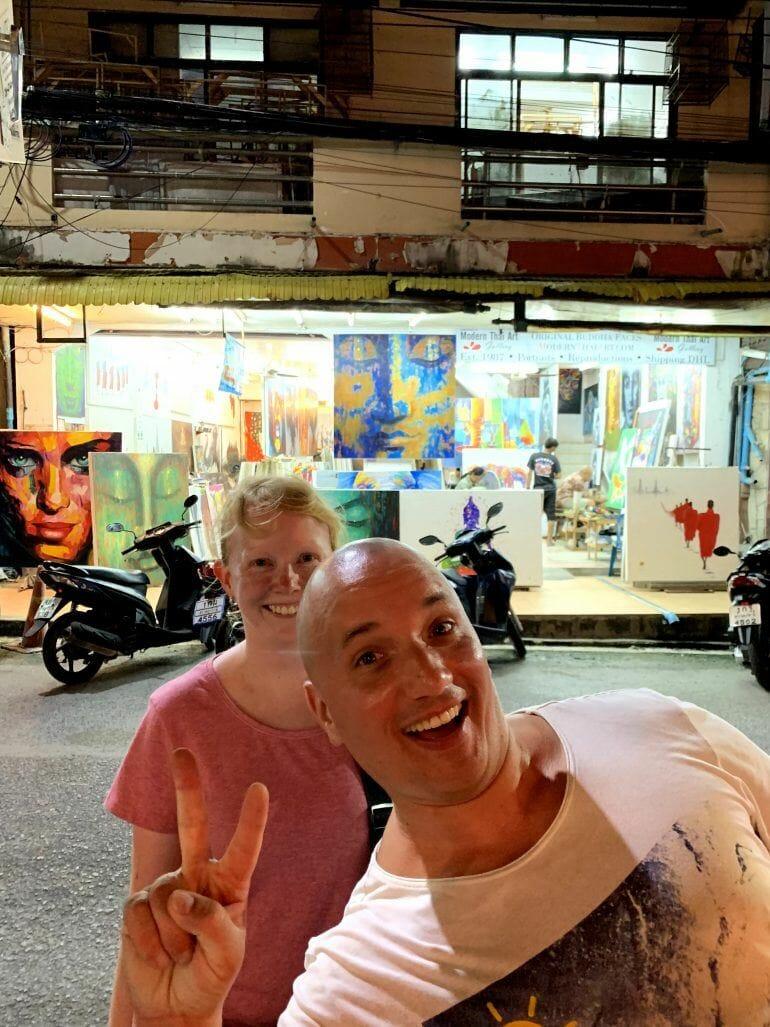 Modern Thai Art Gallery auf Koh Samui Thailand