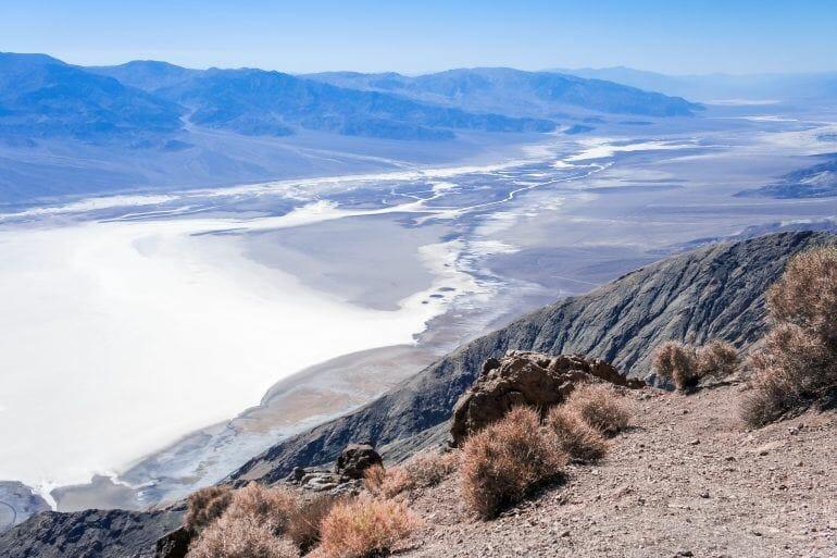 Badwater Basin im Death Valley USA