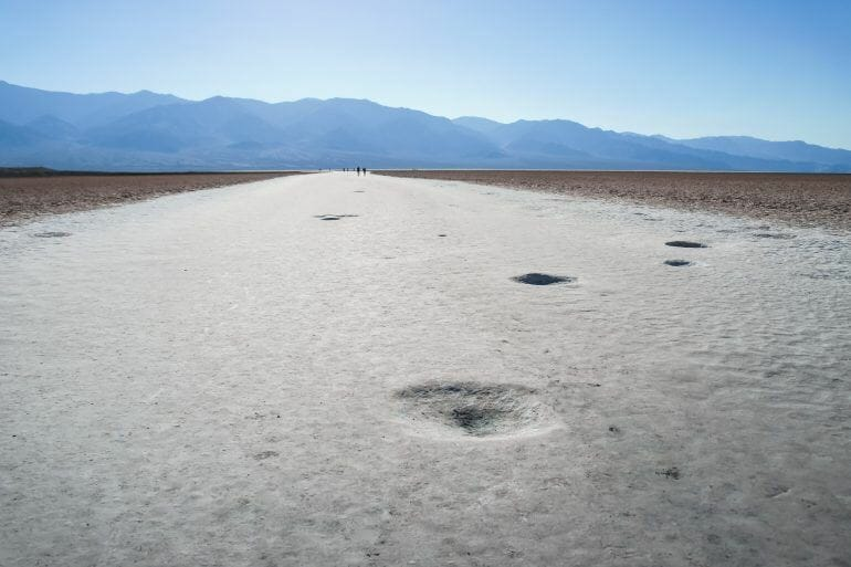 Badwater Basin Death Valley USA