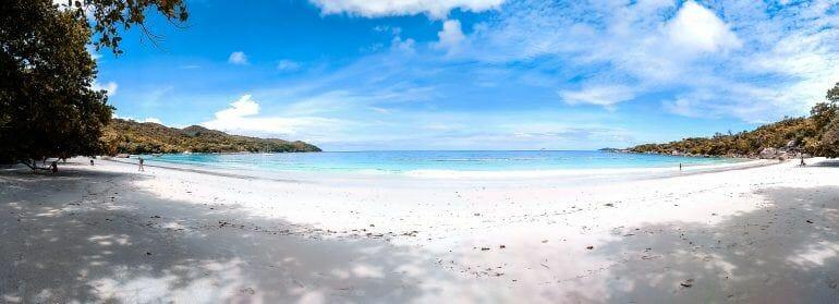 Anse Lazio auf Praslin Seychellen