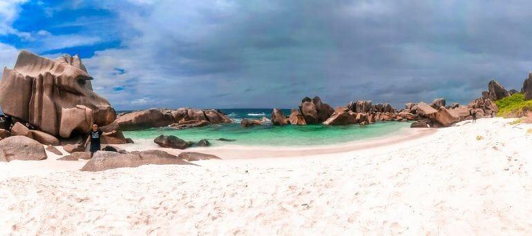 Anse Marron La Digue Seychellen