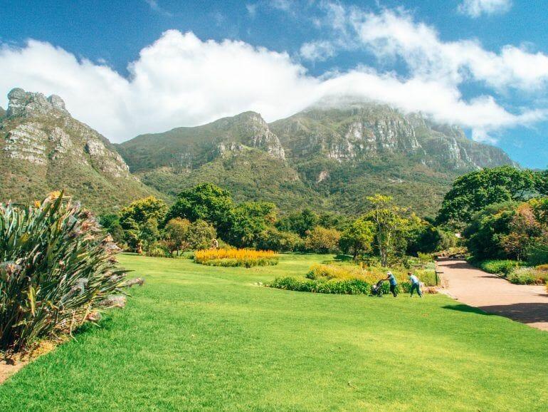 Kirstenbosch Botanischer Garten in Kapstadt Südafrika