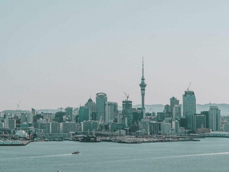 Ausblick vom Mount Victoria Auckland Neuseeland