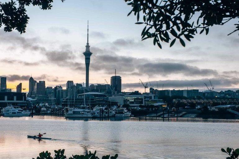 Westhaven Marina Auckland Neuseeland