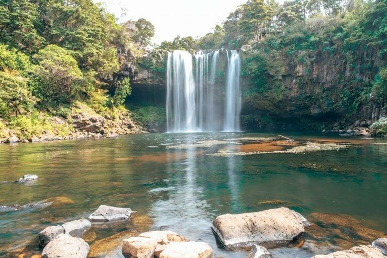 Rainbow Falls Northland Neuseeland