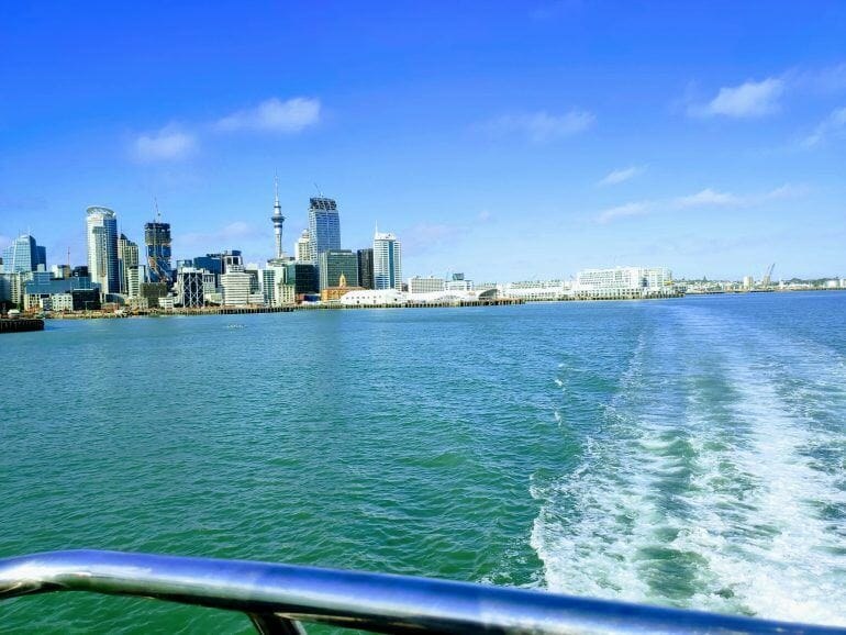 Überfahrt von Auckland nach Waiheke Island Neuseeland