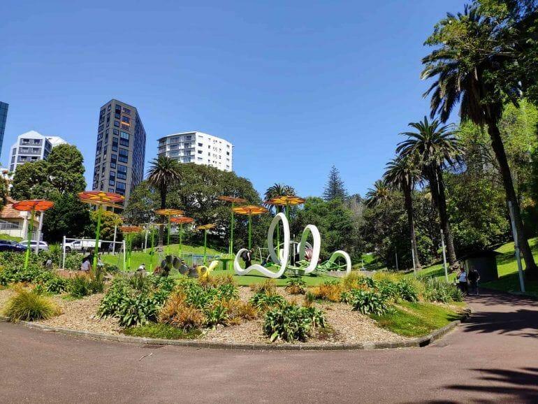 Park in Auckland Neuseeland