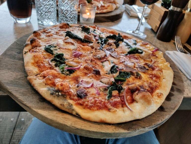 Pizza Charlottes Kitchen Paihia Bay of Islands Neuseeland