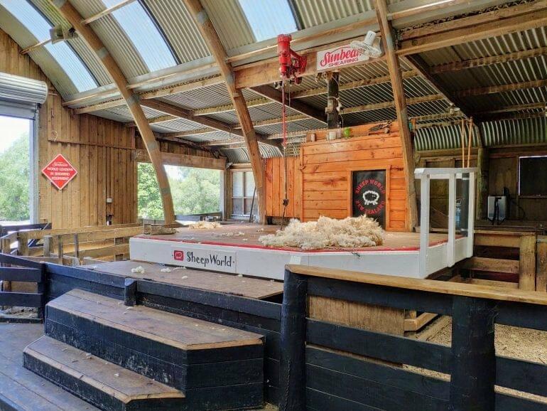 Showbarn Sheep World Neuseeland