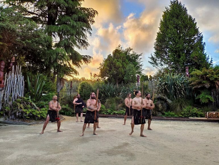 Maori Expierence Rotorua Neuseeland