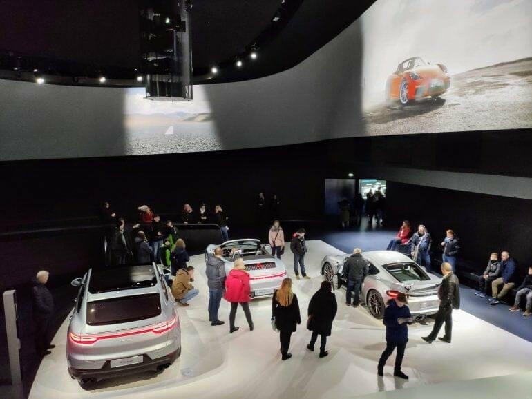 Porsche Pavillion in der Autostadt Wolfsburg