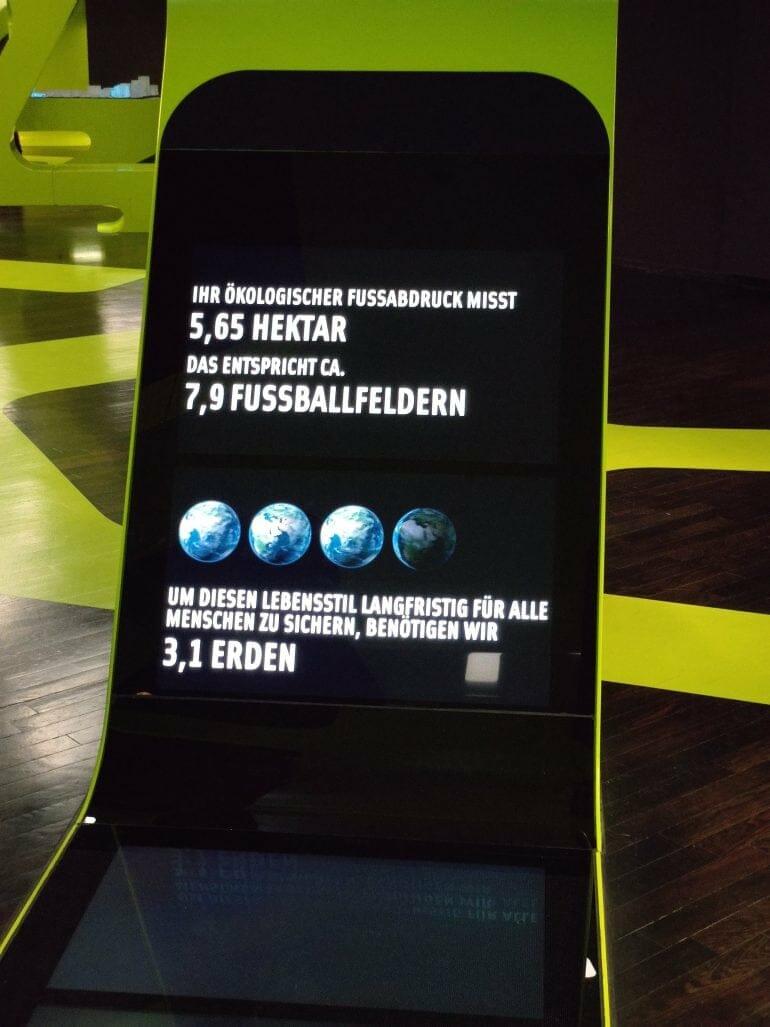 Unser ökologischer Fußabdruck in der Autostadt Wolfsburg