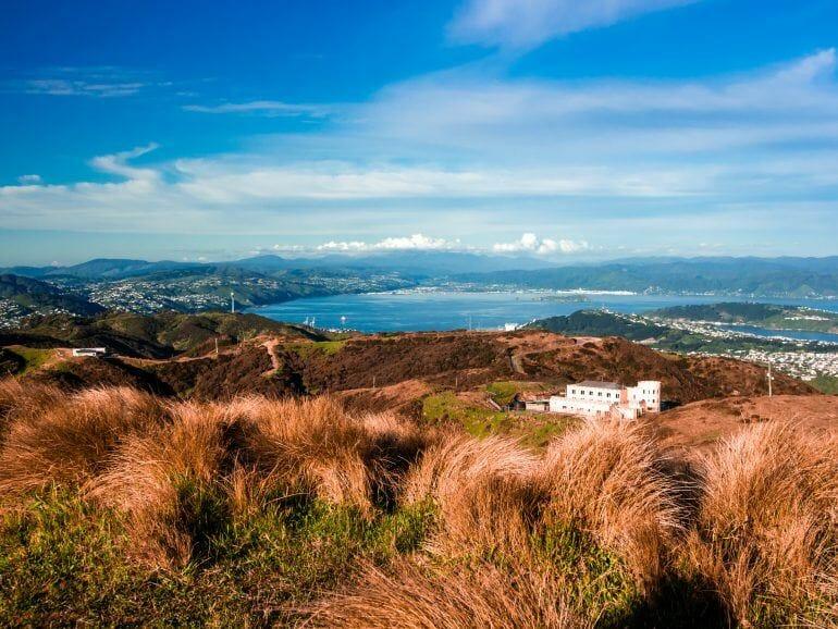 Hawkins Hill Radar Drome Wellington Neuseeland