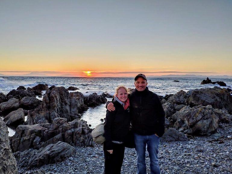 Sunset Tour in Wellington Neuseeland
