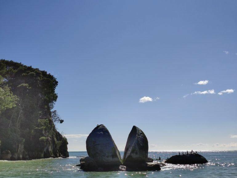 Split Apple Rock Abel Tasman Neuseeland