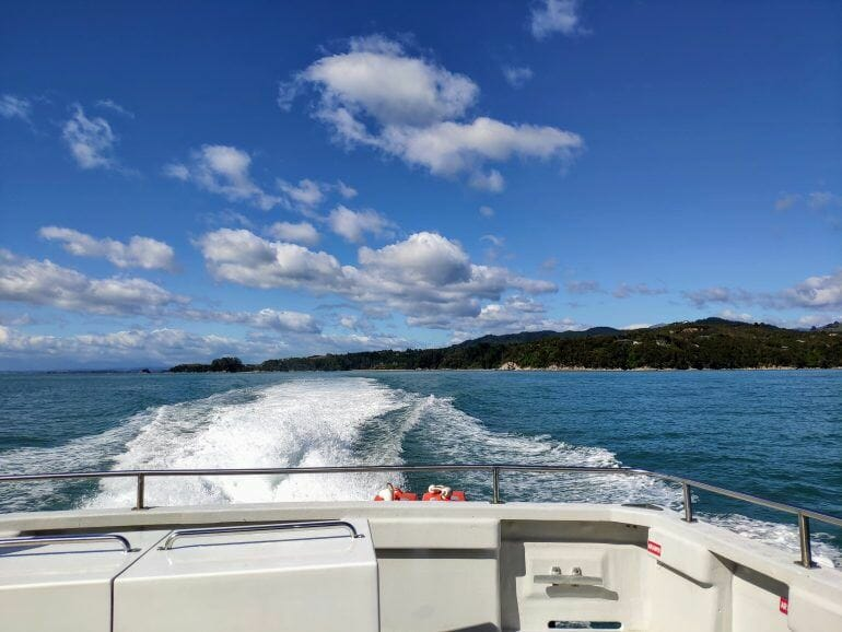 Bootstour Abel Tasman Neuseeland