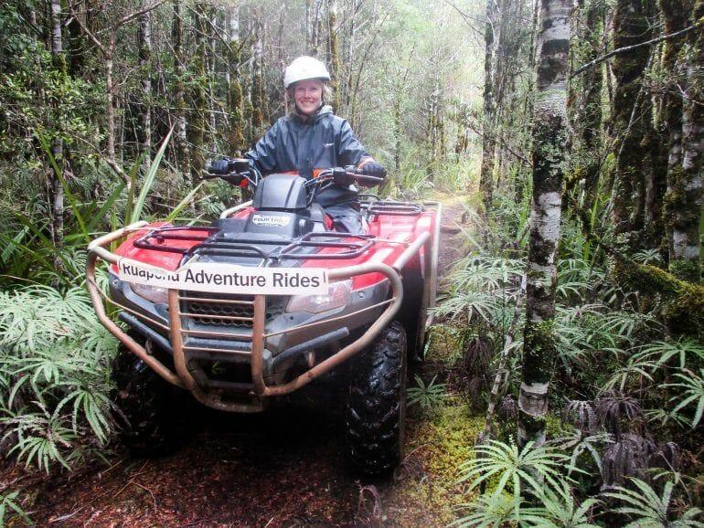 Quadtour Nähe Tongariro Nationalpark Neuseeland