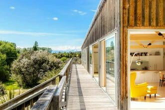 Serenity Lodge Außenansicht Abel Tasman Neuseeland