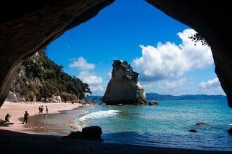 Cathedral Cove Coromandel Peninsula Neuseeland