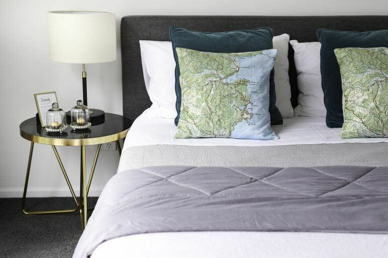Schlafzimmer Serenity Lodge Abel Tasman Neuseeland