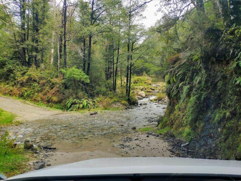 Maruia Saddle Route Neuseeland