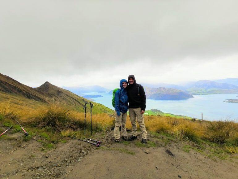 Roy's Peak Wanderung Neuseeland