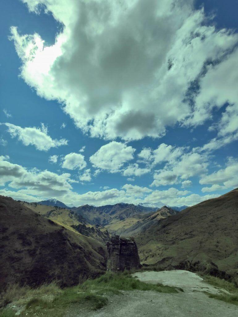 Skippers Canyon Road Neuseeland