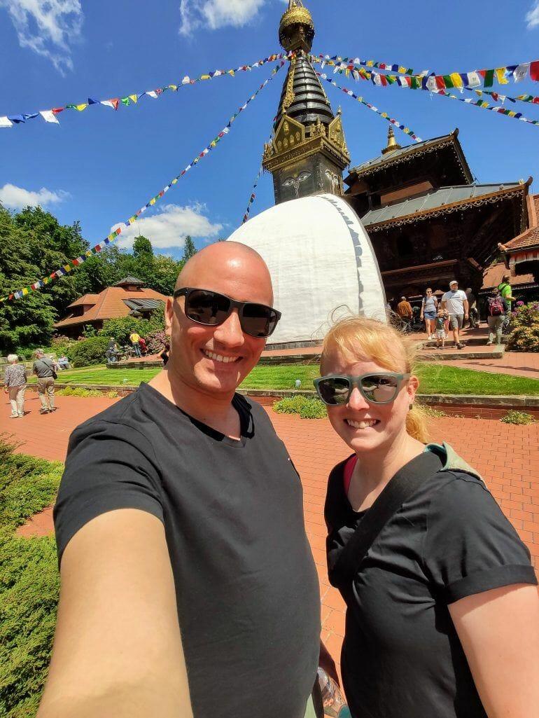 Nepal Himalaya Tempel Bayerischer Wald Deutschland