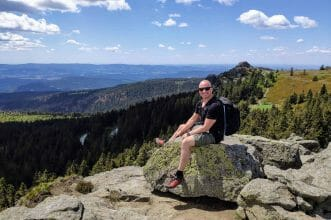 Bayerischer Wald großer Arber Deutschland