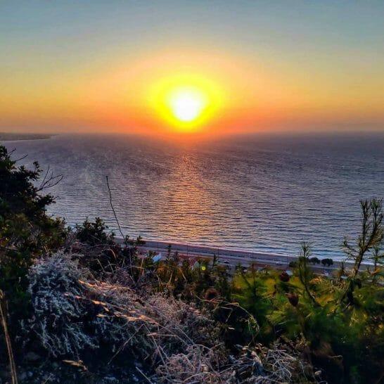 Sunset Rhodos