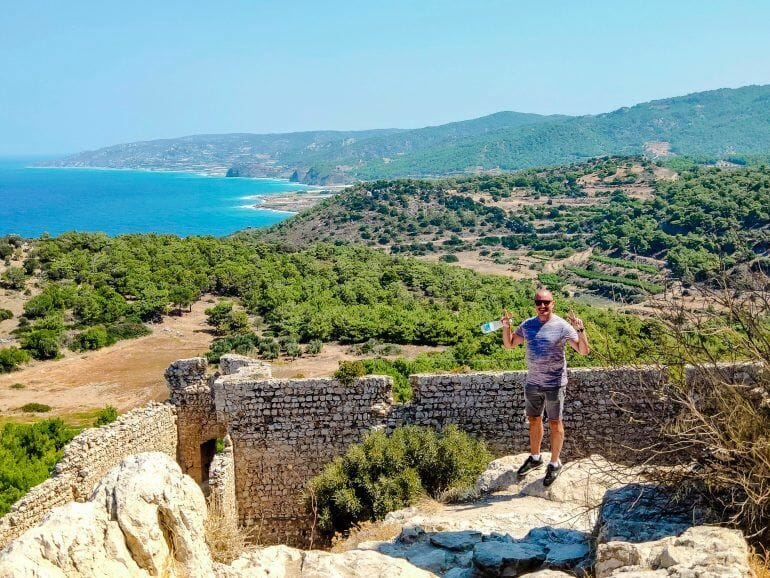 Kritinia Castle Rhodos