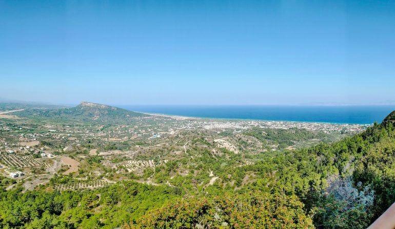 Filerimos Aussichtspunkt Rhodos