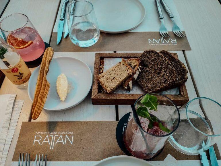 Rattan Restaurant Faliraki Rhodos